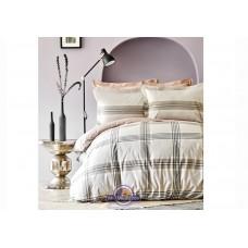 Постельное белье Karaca Home ранфорс - Desi bej 2020-1 бежевый евро