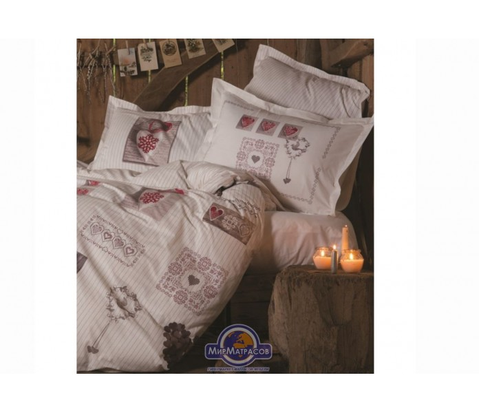 Постельное белье Karaca Home ранфорс - Ashley полуторное
