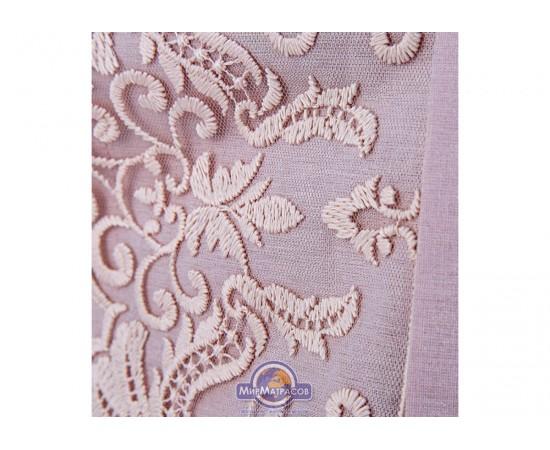 Постельное белье Karaca Home ранфорс - Eva pudra 2020-1 пудра евро