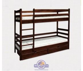 """Кровать двухъярусная Utah """"Засоня"""" без ящиков"""