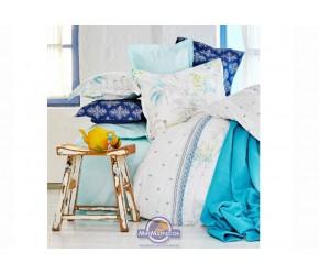 Набор постельного белья с покрывалом + пике Karaca Home - Casimiro 2017-1