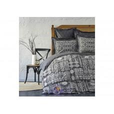 Постельное белье Karaca Home ранфорс - Voleta siyah 2019-2 черный полуторное