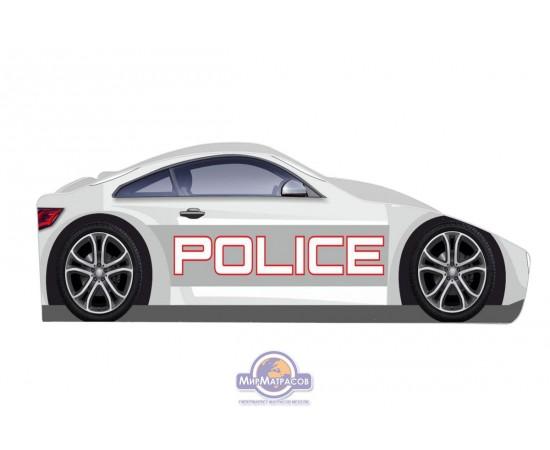"""Кровать Viorina-deko Бренд """"Полиция"""" белая Б-0005"""