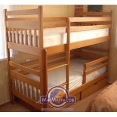 Кровать двухъярусная Энергия Колобок