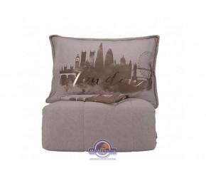 Набор постельного белья с одеялом Karaca Home - London bej 2019-2 бежевый полуторный