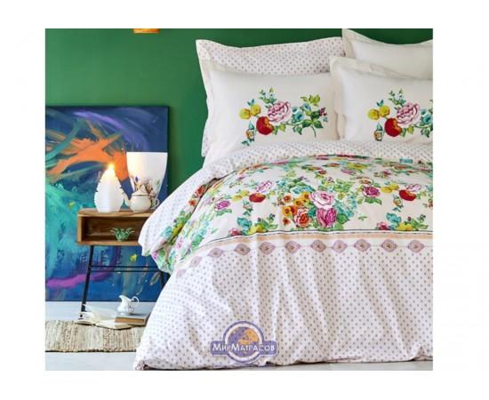 Постельное белье Karaca Home - Irini fusya 2019-2 фуксия пике полуторное