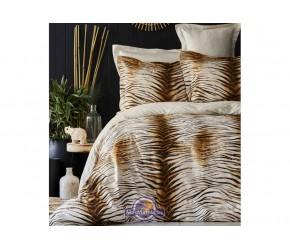 Постельное белье Karaca Home сатин - Sumatra kahve 2020-1 кофе king size