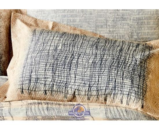 Постельное белье Karaca Home ранфорс - Atika bej 2020-1 бежвый евро