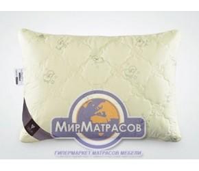 Подушка Идея Wool Classic стеганая на молнии с внутренней подушкой