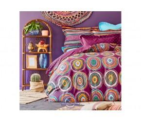 Постельное белье Karaca Home ранфорс - Adya murdum 2020-1 фиолетовый полуторное