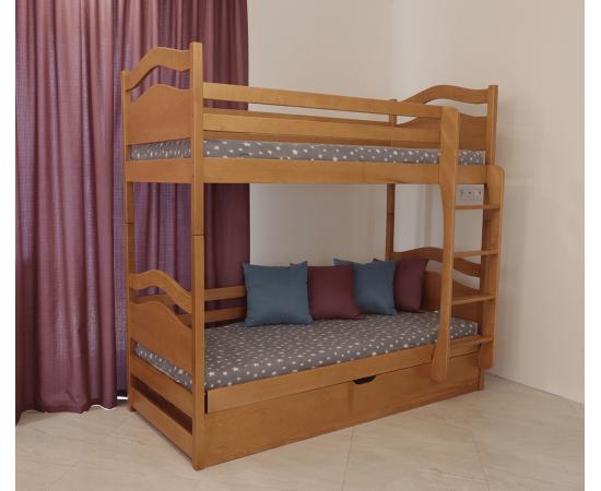 """Кровать двухъярусная Drimka """"Винни Пух"""""""