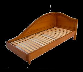 """Кровать HomeLine """"Лейсли"""" (ясень)"""
