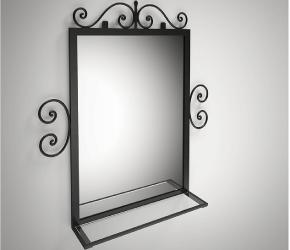 """Зеркало Tenero """"Тауэр"""""""