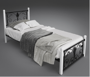 """Кровать Tenero """"Крокус"""" (мини) на деревяных ножках"""