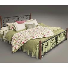 """Кровать Tenero """"Крокус"""" на деревяных ножках"""