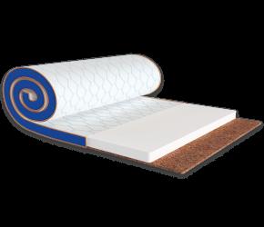 Мини-матрас ЕММ Sleep&Fly mini Flex 2 в 1 Kokos стрейч