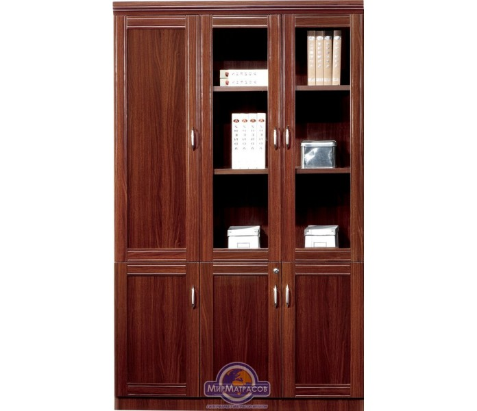 Шкаф AMF 3х-секционный,прав.гардероб (813)