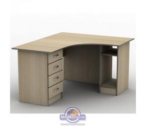 Стол письменный Тиса мебель СПУ-6 (120*120)