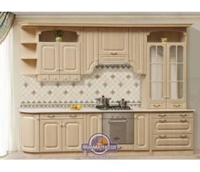 """Кухня Світ Меблів """"Валенсия"""" длиной 3 метра"""