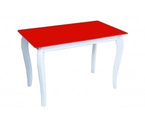 """Стеклянный стол Sentenzo """"Император Белиссимо Ред"""""""