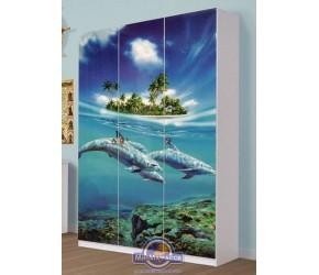 """Шкаф Світ Меблів """"Мульти"""" Дельфин 3д"""