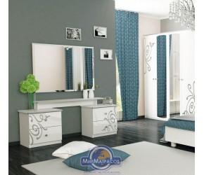 "Туалетный столик ""Богема"" Miro Mark (Белый глянец)"