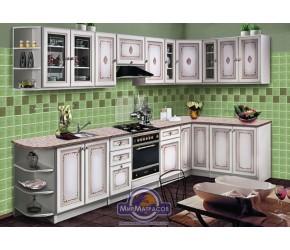 """Кухонная система Скаи """"К-1"""" Белая угловая"""