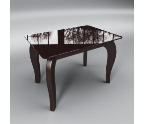 """Стеклянный стол Sentenzo """"Император мини коричневый"""""""