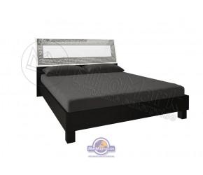"""Кровать """"Виола"""" Miro Mark(Белый/Черный мат)"""
