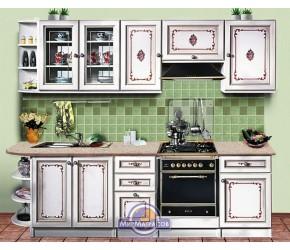 """Кухонная система Скаи """"К-1 """" Белая длиной 2,6 метра"""