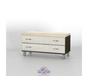 Комод прикроватный Тиса мебель КП-114