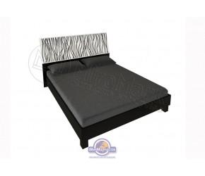 """Кровать """"Терра"""" Miro Mark (Белый/Черный мат)"""