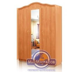 Шкаф 3-х дв Da-Kas Татьяна (фасад ДСП, с зеркалом)