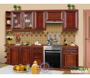 """Кухонная система Скаи """"К-1"""" Орех длиной 2,6 метра"""
