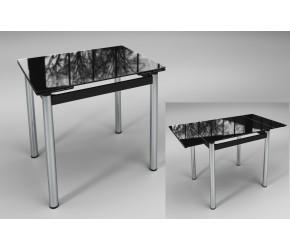 """Раскладной стол Sentenzo """"""""Ритм"""" черный"""